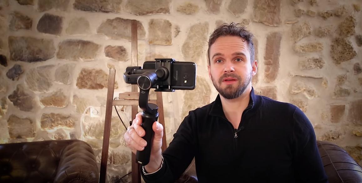 stabilisateur pour vidéo youtubeur
