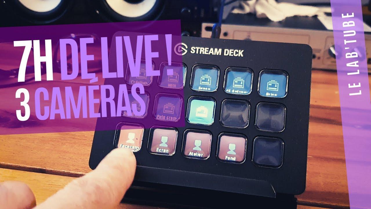 Privé: 7h de live / 3 caméras / 2 PC / OBS & Stream Deck (TUTO)